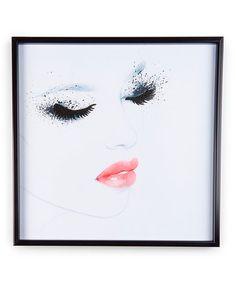 Loving this Lady Portrait Framed Wall Art on #zulily! #zulilyfinds