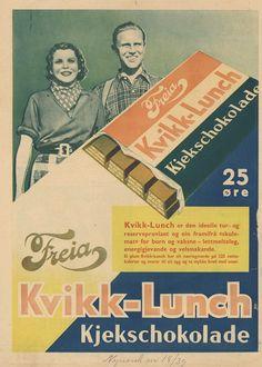 KVIKK LUNSJ Vintage Advertisements, Vintage Ads, Vintage Photos, Vintage Hawaii, Vintage Ski Posters, Old Ads, Beach Trip, Norway, Skiing