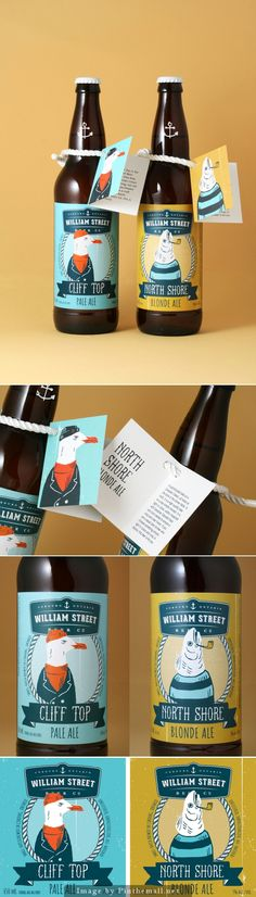 William Street Beer Co. #label #packaging