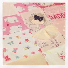 Keepsake memory quilt made from your old baby clothes by BiziAndBea on Etsy https://www.etsy.com/uk/listing/262094010/keepsake-memory-quilt-made-from-your-old