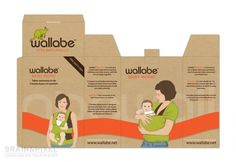 Wallabe™ Baby Bond package design