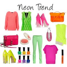 neon trend....back again