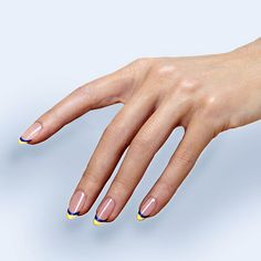 A French Manicure Tutorial