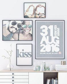 – – Source by The post Love Poster selbst gestalten und daraus romantische Wanddeko zaubern! – – appeared first on İdeen. Make Your Own Poster, Design Your Own Poster, Poster Love, Love Posters, Living Room Decor, Bedroom Decor, Hallway Decorating, Creative Decor, Photo Wall