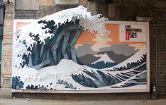 Levi's - Hokusai's Wave