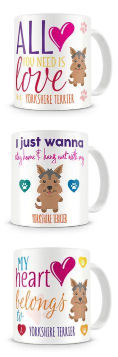 Yorkshire Terrier (Yorkie) Ceramic Coffee Mug