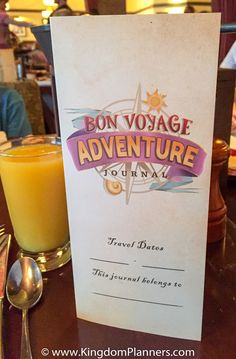 Contact Kingdom Planners to book the wonderful Bon Voyage Adventure Breakfast - dine with Ariel, Prince Eric, Rapunzel and Flynn Rider!