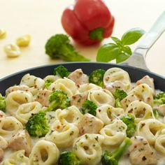 A creamy one-skillet pasta dinner using ingredients you have on hand.