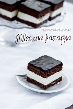 Ciasto mleczna kanapka | Moje Wypieki Sweet Recipes, Cake Recipes, Dessert Recipes, Yummy Treats, Sweet Treats, Yummy Food, Milk Cake, Polish Recipes, Food Cakes