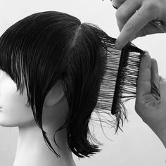 Pin on Hair cut Pin on Hair cut Hair Cutting Videos, Hair Cutting Techniques, Hair Color Techniques, Hair Videos, Short Choppy Hair, Short Hair With Layers, Short Hair Cuts, Haircut Short, Point Cut Hair