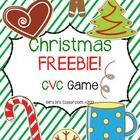 It's getting closer to Christmas, so here is something for you to enjoy with your kiddos.   This is a CVC game with 27 CVC word cards that are easi...