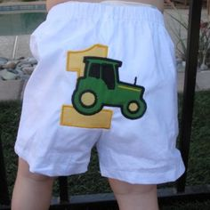 John Deere Track, First Birthday Personalized Appliqued Birthday Mi. Summer Fashion Outfits, Cute Summer Outfits, Boy Outfits, Kids Fashion, Summer Clothes, Boy Birthday, Birthday Ideas, Birthday Shirts, Birthday Parties