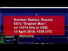 """Shortwave Number Station """"English Man"""" on 11074 kHz"""
