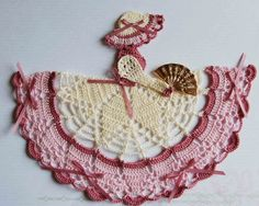 Theme Crinoline Lady Hand Crochet Doily Victorian Theme Crinoline Lady Hand Crochet Doily by designedbyl Victorian Theme Crinoline Lady Hand Crochet Doily by designedbyl Thread Crochet, Filet Crochet, Crochet Motif, Crochet Designs, Hand Crochet, Crochet Lace, Crochet Stitches, Crochet Granny, Crochet Doll Dress