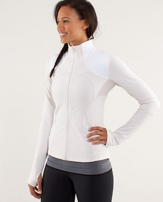 "Lulu Lemon - Forme Jacket : Spring 2013, Olivia Pope, Scandal, Episode 222 ""White Hats Back On"""