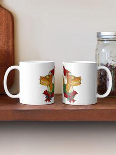 """Christmas Cat"" Mug by Jokertoons   Redbubble Cat Mug, Christmas Cats, Cat Lovers, Mugs, Tableware, Holiday, Dinnerware, Vacations, Tumblers"