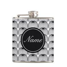 Elegant Geometric Flask