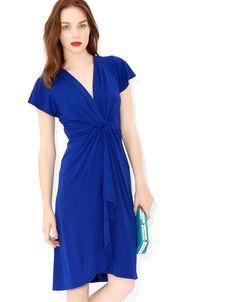 Cath Short Dress | Blue | Monsoon