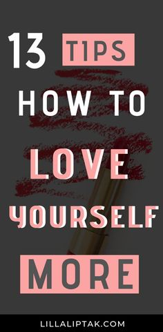 13 tips how to love
