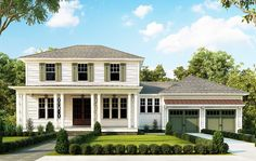 4 Bed House Plan with Upstairs Flex Room - 38600RR | Colonial, Traditional, 1st Floor Master Suite, Butler Walk-in Pantry, CAD Available, Den-Office-Library-Study, Loft, MBR Sitting Area, PDF | Architectural Designs