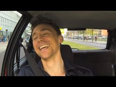 "Tom Hiddleston singing ""Stand By Me"" in a car on the German Web series Stars in Cars : 