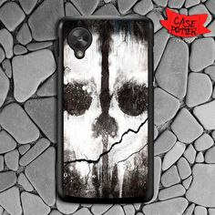 Call Of Dutty Ghost Nexus 5 Black Case