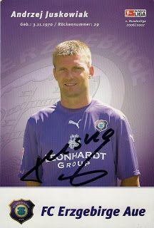 Autograph from Andrzej Juskowiak!