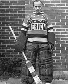"Roy ""Shrimp"" Worters, New York Americans"