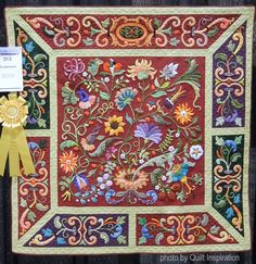 Quilt Inspiration: Highlights of the 2016 AQS QuiltWeek: Exemplary Applique