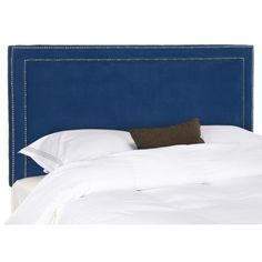 $187 Safavieh Cory Royal Blue Full Headboard - Overstock Shopping - Big Discounts on Safavieh Headboards