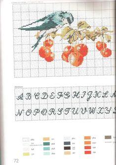 Gallery.ru / Фото #67 - Helene Le Berre - Les oiseaux a broder - velvetstreak