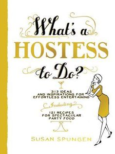 In What's a Hostess to Do?, entertaining expert Susan Spungen explains everything you need to know to host a party effortlessly and with elegance. Susan shows the hostess how to make it look easy--whether the occasion is an informal brunch, a sit-down dinner, a buffet for a crowd, or an impromptu birthday celebration. It's all arranged in 339 easy-to-digest entries that take readers through every aspect of entertaining.