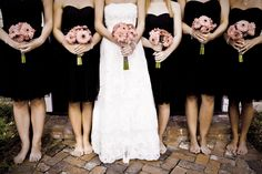 Many are searching for ways to lose weight for the upcoming wedding season. Choose lasting weight loss with Genetix Program. Black Bridesmaid Dresses, Brides And Bridesmaids, Black Bridesmaids, Wedding Dresses With Flowers, Wedding Pics, Wedding Ideas, Wedding Themes, Wedding Bells, Wedding Planning