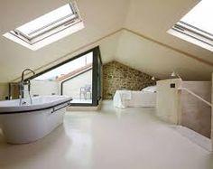 Imagini pentru attic bedroom and bath