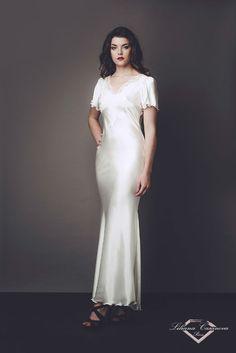 Liliana Casanova Madame Du Barry Gown