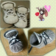 NOTE: This is the instruction is not a finished product Pattern in Norwegian Norks Mönstret A new version of Reaverse socks, now all knitted ! Easy Crochet, Crochet Baby, Knit Crochet, Crochet Socks Pattern, Knitting Patterns, Converse Slippers, Crochet Needles, Baby Sneakers, Slipper Socks