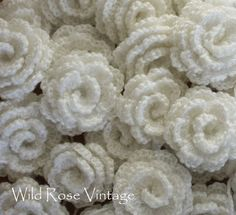 Wild Rose Vintage: Homemade roses, soap and the rest of my junk shop treasures...
