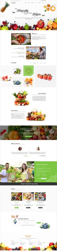 Organic is a fresh and clean design premium #PSD template for organic shop #eCommerce #website with 6 unique homepage versions and 17 fully layered PSD files download now➩ https://themeforest.net/item/organisk-multipurpose-organic-psd-template/18553275?ref=Datasata