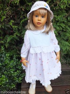 Goetz-Puppe-ANNA-Sissel-Skille-Manufakturpuppe-aus-2002-Gotz-Doll-Poupee