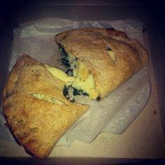 Spinach n Cheese Calzone