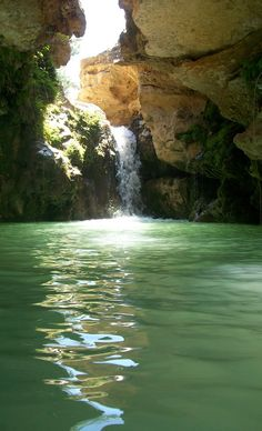 El salto del Usero Belleza Natural, Where To Go, Beautiful Landscapes, Barcelona, Places To Visit, Around The Worlds, Hiking, Mula Murcia, River