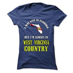WV-FL - FLORIDA WEST VIRGINIA Country - #boyfriend gift #gift bags. TRY  => https://www.sunfrog.com/States/WV-FL--FLORIDA-WEST-VIRGINIA-Country-hvblzwztgm-Ladies.html?60505                                                                                                                                                      More