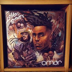 """Being played tonight in DC... Omar Love in Beats.... have you heard this? It's really good... both funky and fresh at the same time.... laid back... a perfect start to the weekend... .  Thanks to my brother noomsey @scottmartinstudio  for pointing out how good Omar is.... this record is filled with excellent soul music... the theme tonight is """"Insatiable""""... and check out """"Doobie Doobie Doo""""....but you can't go wrong with letting it play... I mean why not ... everybody loves  Friday…"""