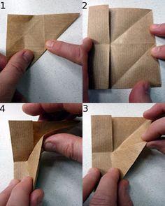 Tutorial origami box