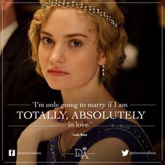 """Downton Abbey's"" Season 6 finale will see the return of one of the show's key characters as the series winds down to its swan song. A Day To Remember, Rock Roll, Downtown Abbey Quotes, Downton Abbey Season 6, Lily James Downton Abbey, Dowager Countess, Believe, Lady Mary, Frases"