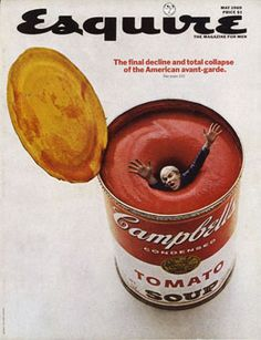 Andy Warhol Esquire Magazine Cover