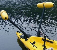 Kayak Outrigger Stabilizer Kayak or Canoe - Boat not included - Stand to Fish in Sporting Goods, Water Sports, Kayaking, Canoeing & Rafting Kayaking Gear, Kayak Camping, Canoeing, Kayak Fishing Accessories, Boat Accessories, Canoe Boat, Canoe And Kayak, 2 Person Fishing Kayak, Fly Fishing