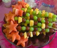 Princess Fruit Wands | Karen Whiting Make a healthy and pretty treat with your princess!