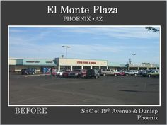 El Monte Plaza Phoenix, 2nd photo of Before Renovation by Michael A Pollack of Pollack Investments, Pollackinvestments.com