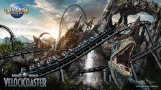 Jurassic Park, New Jurassic World, Orlando Florida, Orlando Resorts, Parque Universal Orlando, Universal Studios Florida, Bryce Dallas Howard, Promenade En Bateau, New Roller Coaster
